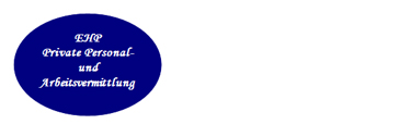 EHP Private Personal- und Arbeitsvermittlung